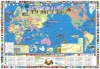 world map design advertising posters Production japanese novelty goods
