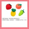2012 CUTE FRUIT ERASERS FOR IDEA PROMOTIONAL GIFT