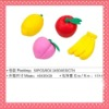 2012 HOT SELL FRUIT ERASERS FOR IDEA PROMOTIONAL GIFT