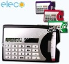 calculator w/name card holder&pen------ELE4039